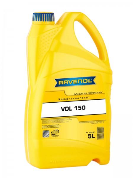 RAVENOL Kompressorenöl VDL 150 - 5 Liter