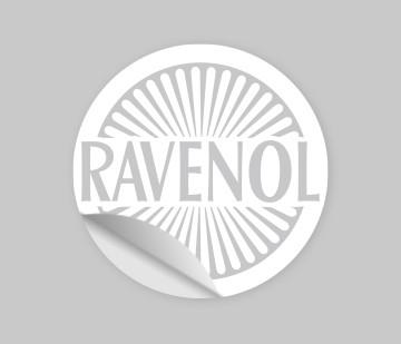 "RAVENOL Aufkleber Retro ""1946"" geplotte"