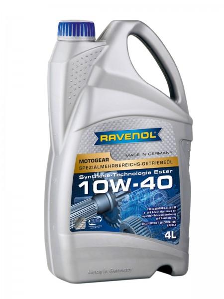 RAVENOL Motogear SAE 10W-40 GL-4 - 4 Liter