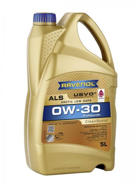 RAVENOL Arctic Low SAPS ALS SAE 0W-30 - 5 Liter