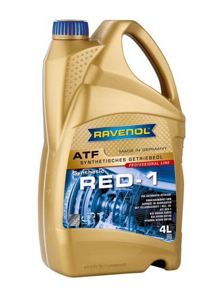 RAVENOL ATF RED-1 - 4 Liter