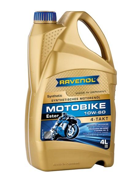 RAVENOL Motobike 4-T Ester SAE 10W-60 - 4 Liter