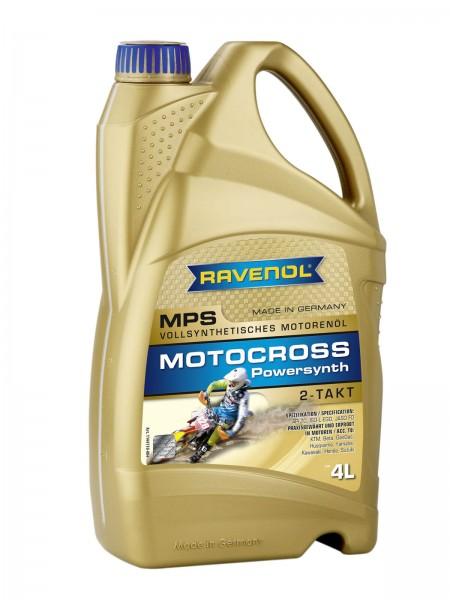 RAVENOL MPS Motocross Powersynth 2T - 4 Liter