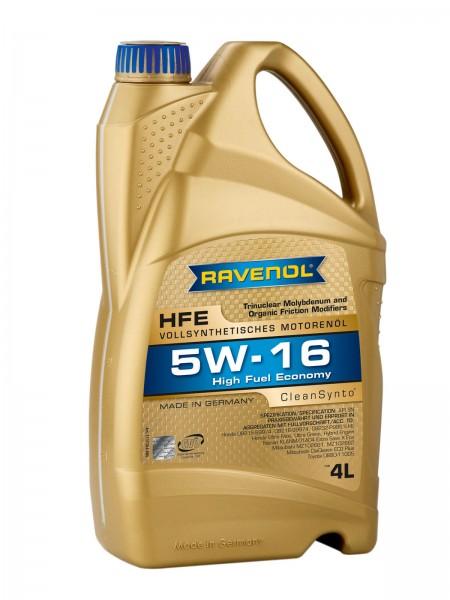 RAVENOL High Fuel Economy HFE SAE 5W-16 - 4 Liter