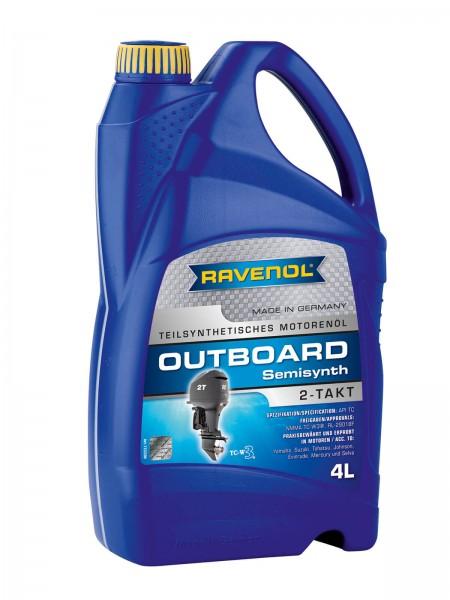 RAVENOL Outboard-Öl 2-Takt Teilsynthetisch - 4 Liter