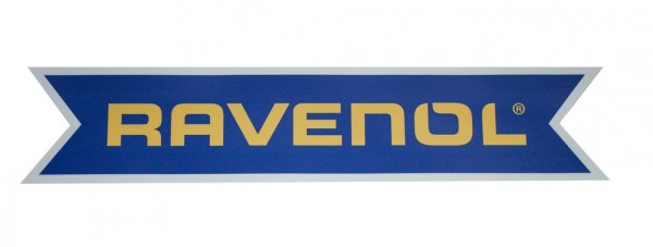 RAVENOL Aufkleber 2-farbig Kontur