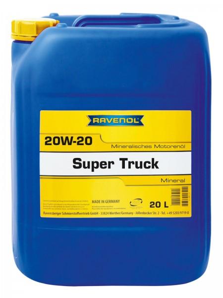 RAVENOL Super Truck SAE 20W-20 - 20 Liter