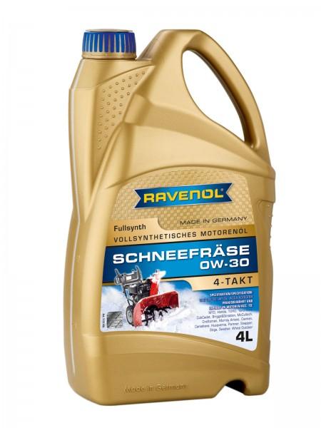 RAVENOL Schneefräse 4-Takt 0W-30 - 4 Liter