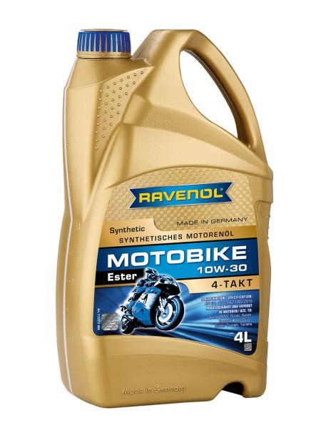 RAVENOL Motobike 4-T Ester SAE 10W-30 - 4 Liter