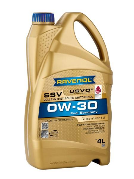 RAVENOL SSV Fuel Economy SAE 0W-30 - 4 Liter