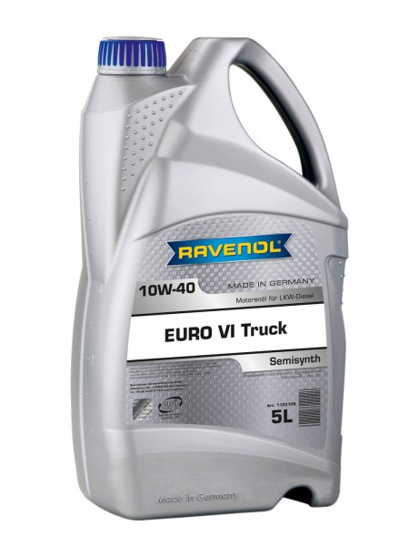 RAVENOL EURO VI Truck SAE 10W-40 - 5 Liter