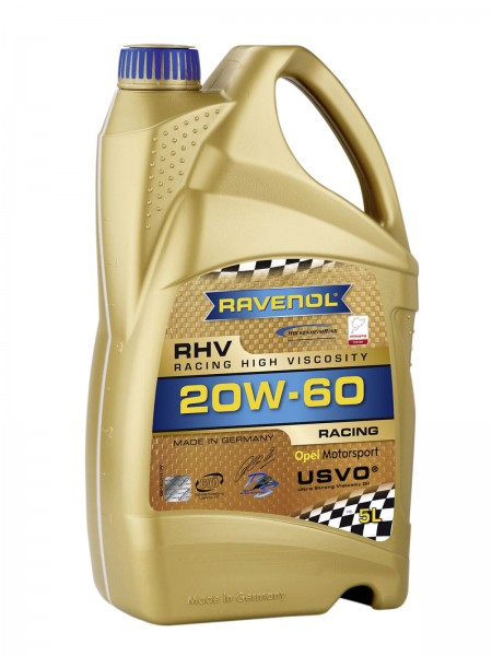 RAVENOL RHV Racing High Viscosity SAE 20W-60 - 5 Liter