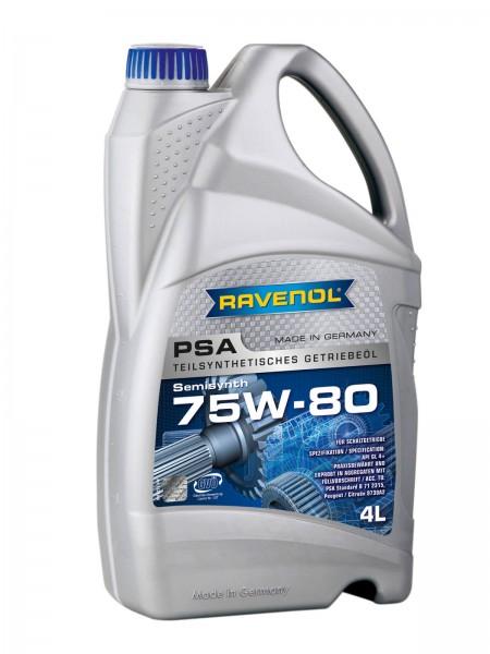 RAVENOL Getriebeöl PSA SAE 75W-80 GL-4+ - 4 Liter