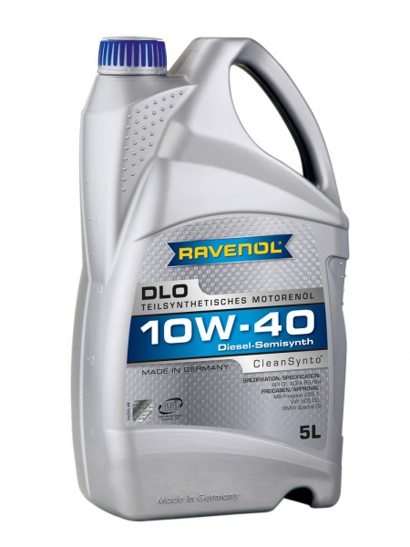 RAVENOL DLO SAE 10W-40 - 5 Liter