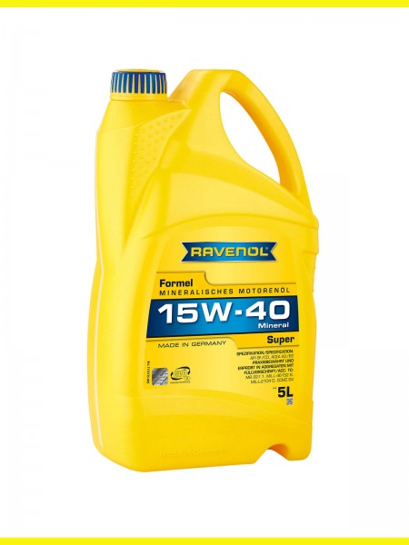 RAVENOL Formel Super SAE 15W-40 - 5 Liter