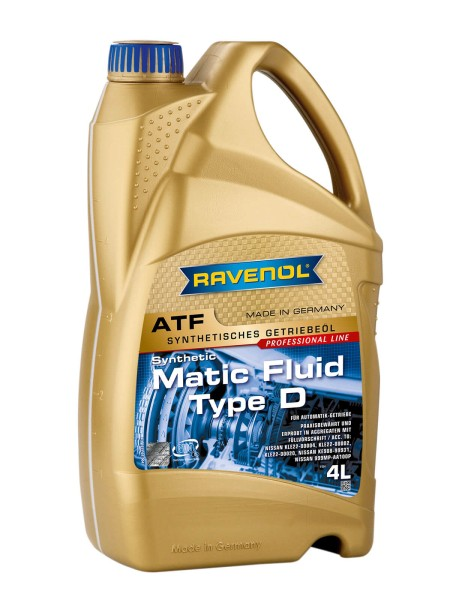 RAVENOL ATF Matic Fluid Type D - 4 Liter