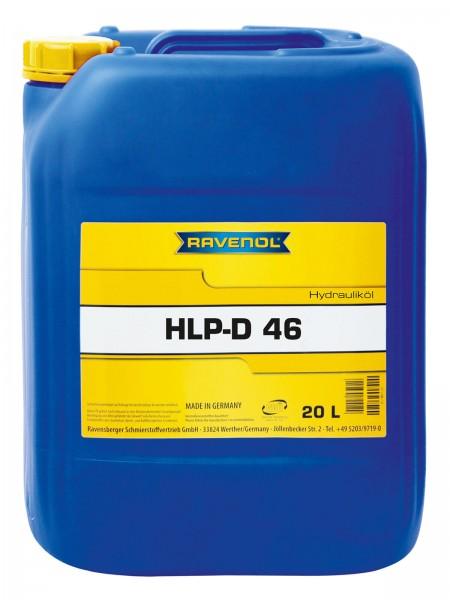 RAVENOL Hydraulikoel HLP-D 46 - 20 Liter