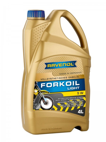 RAVENOL Fork Oil Light 5W - 4 Liter