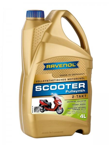 RAVENOL SCOOTER 2-Takt Fullsynthetic - 4 Liter
