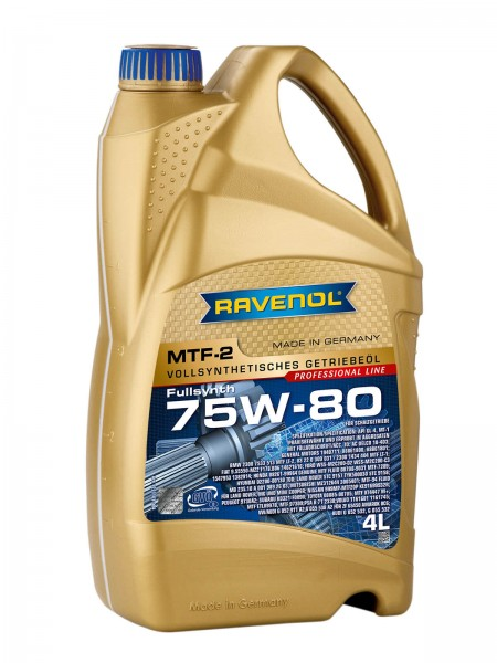 RAVENOL MTF-2 SAE 75W-80 - 4 Liter