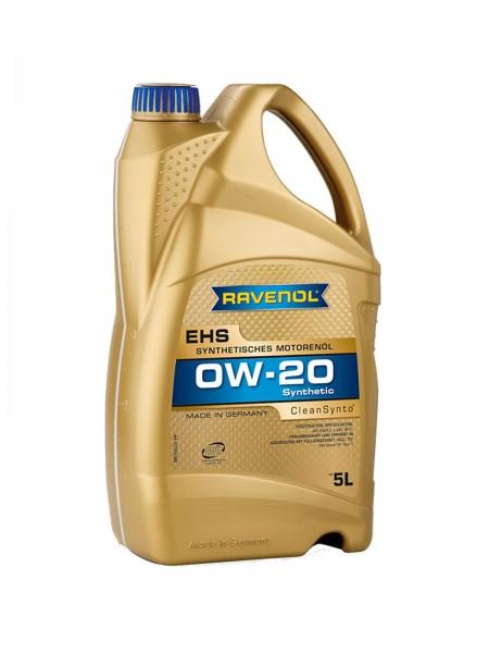 RAVENOL EHS SAE 0W-20 - 5 Liter