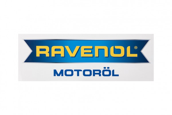 RAVENOL Aufkleber 25x8 cm