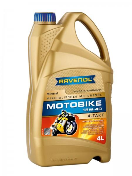 RAVENOL Motobike 4-T Mineral SAE 15W-40 - 4 Liter