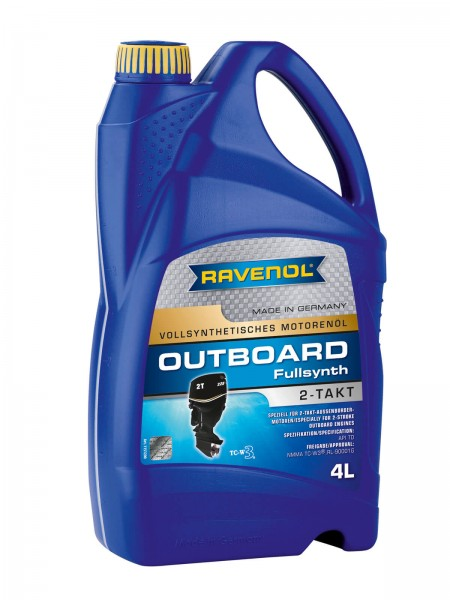 RAVENOL Outboardöl 2-Takt Fullsynthetic - 4 Liter