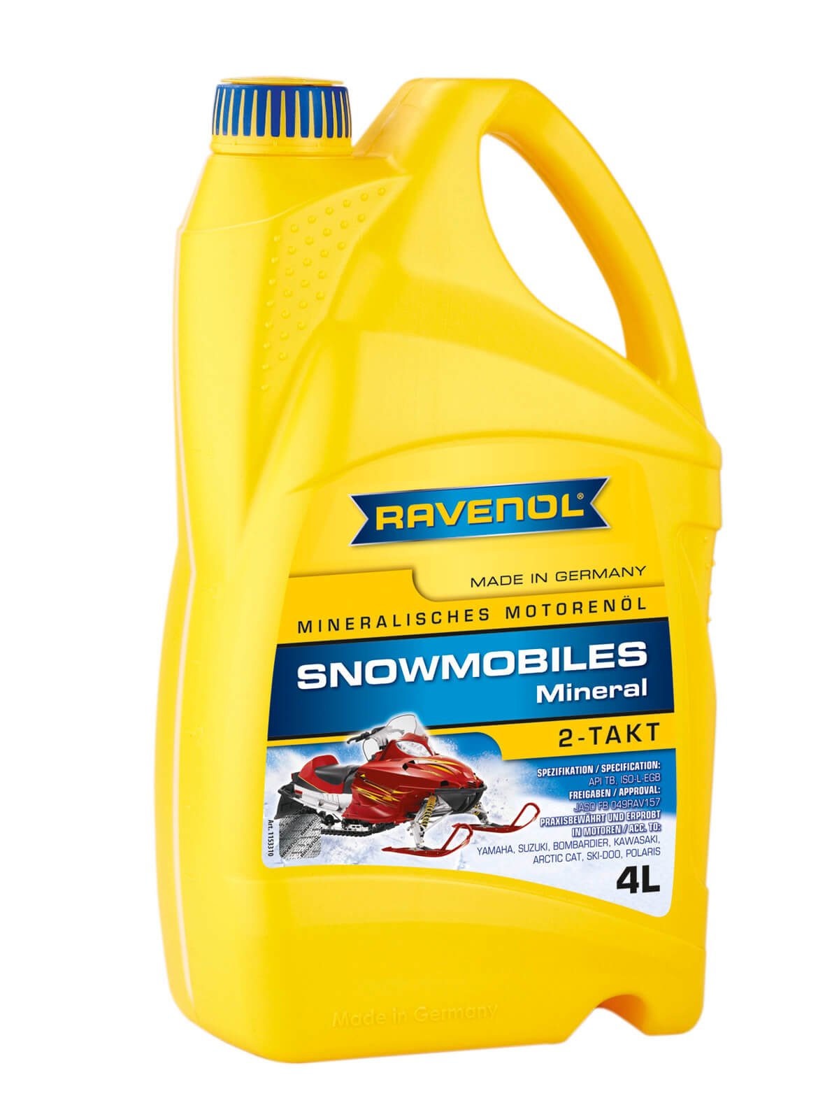 ravenol snowmobiles mineral 2 takt direkt im ravenol shop. Black Bedroom Furniture Sets. Home Design Ideas
