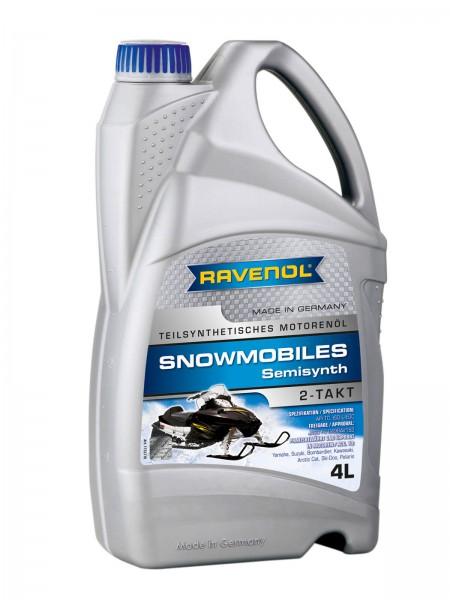 RAVENOL SNOWMOBILES Teilsynth. 2-Takt - 4 Liter