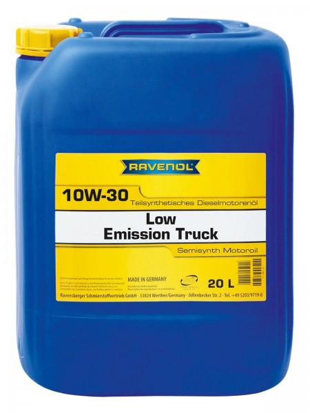 RAVENOL Low Emission Truck SAE 10W-30 - 20 Liter