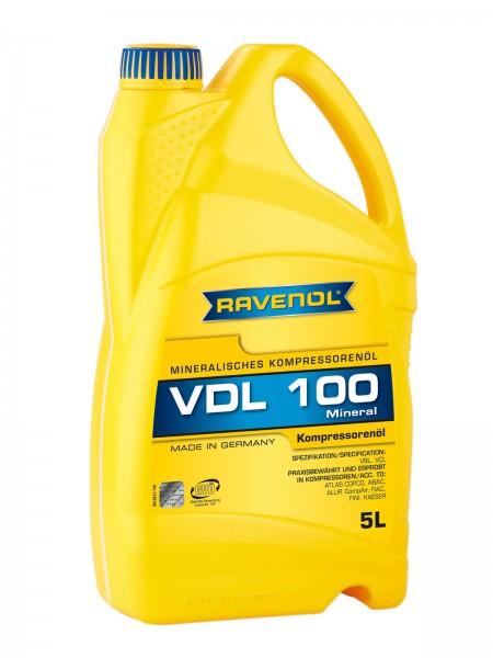 RAVENOL Kompressorenöl VDL 100 - 5 Liter