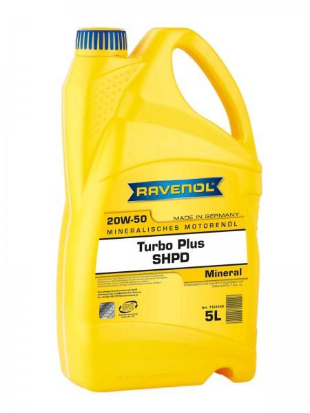 RAVENOL Turbo-Plus SHPD SAE 20W-50 - 5 Liter