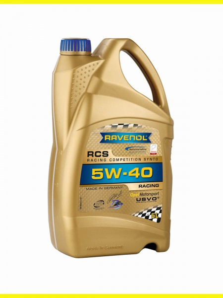 RAVENOL RCS Racing Competition Synto SAE 5W-40 - 5 Liter