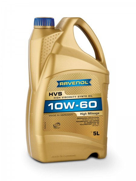 RAVENOL HVS High Viscosity Synto Oil SAE 10W-60 - 5 Liter