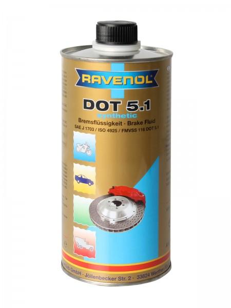RAVENOL DOT 5.1 - 1 Liter