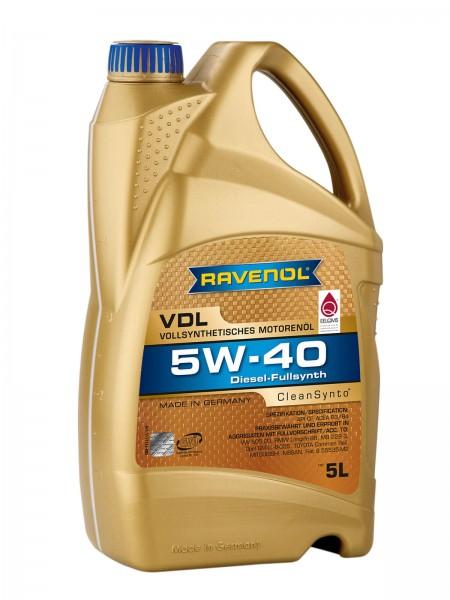 RAVENOL VDL SAE 5W-40 - 5 Liter
