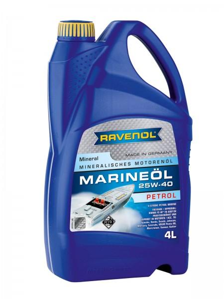 RAVENOL Marineöl Petrol SAE 25W-40 mineral - 4 Liter