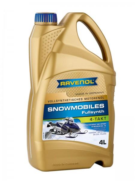 RAVENOL Snowmobiles 4-Takt Fullsynth - 4 Liter