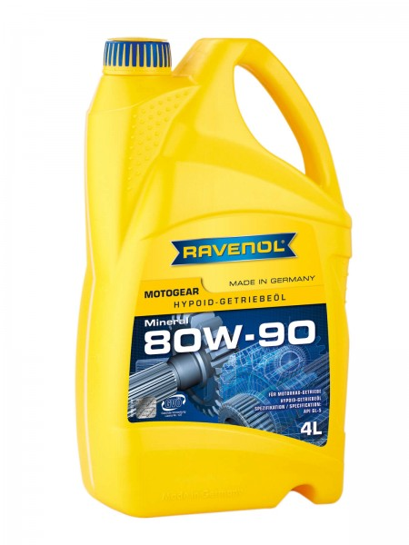 RAVENOL Motogear SAE 80W-90 GL-5 - 4 Liter