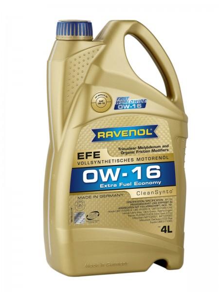 RAVENOL Extra Fuel Economy EFE SAE 0W-16 - 4 Liter